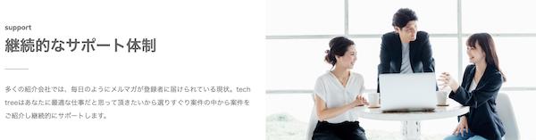 techtreeサポート