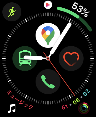 AppleWatch文字盤